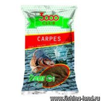 Прикормка Sensas 3000 Club Carp 1 кг