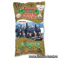 Прикормка Sensas 3000 Super Riviere Bremes 1 кг