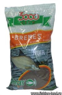 Прикормка Sensas 3000 Club Bream Noire 1 кг