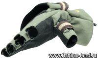 Перчатки-варежки Norfin Nord отстегивающиеся L