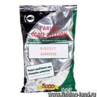 Добавка в прикорм Sensas Biscuit Gardons 0,8кг
