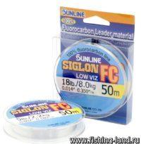 Флюорокарбон Sunline SIG-FC 30м 0.350мм