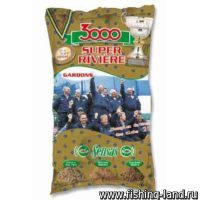 Прикормка Sensas 3000 Super Riviere Gardons 1 кг