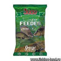 Прикормка Sensas 3000 Super Feeder Big Fish 1кг