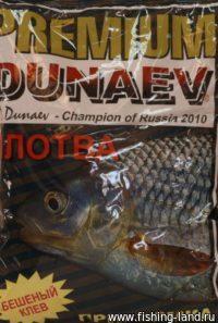Прикормка Dunaev Premium 1кг Плотва