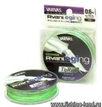 Шнур Avani Eging Tip Run PE 200м 0,148мм 0.8