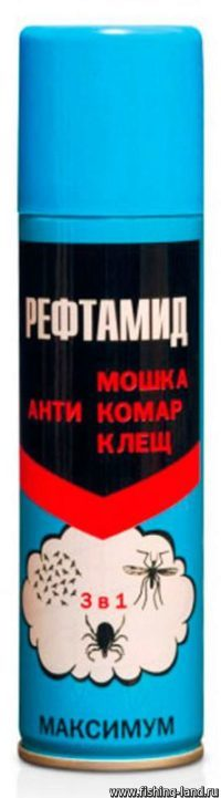 Аэрозоль Рефтамид Максимум 3 в 1 (дета: 28%) 147мл