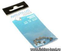 Бусины Nautilus Rubber Beads Black 3мм