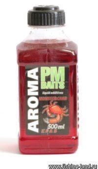 Добавка PMBaits Aroma Monster Crab 500мл.