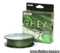 Шнур Ryobi PE Rhea 8х 120м 0,092мм 3,8кг dark green