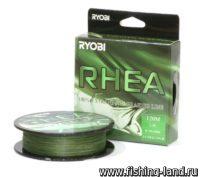 Шнур Ryobi PE Rhea 8х 120м 0,105мм 5,6кг dark green