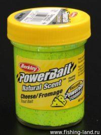 Паста Berkley Natural scent TroutBait Cheese Chart (сыр) 50гр