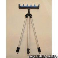 Подставка телескоп. Kaida A08-6 на 6 удочек