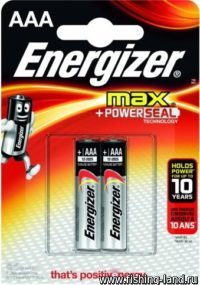 Батарейки Energizer ENR MAX E92/AAA 2шт