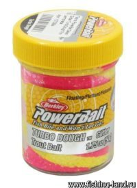 Паста Berkley PowerBait Select Glitter TurboDough Pink Lemonade 50гр