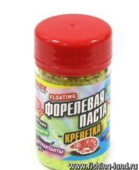 Паста Dunaev 50мл Форель Креветка Желтая