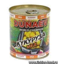 Добавка для прикормки Dunaev Кукуруза Мед 320мл
