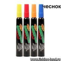 Набор маркеров Spike It чеснок (желтый/красный/оранжевый/голубой) 4шт
