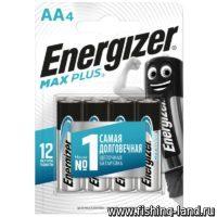 Батарейки Energizer ENR MAX Plus E91/AA 4шт