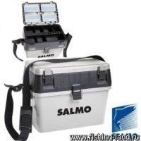 Ящик рыболовный Salmo 2-х ярус.(из 2-х частей) пласт.