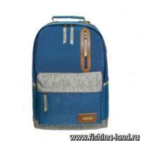 Рюкзак Aquatic Р-26ССДК городской (цвет: синий, серое дно, серый клапан)