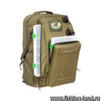 Рюкзак рыболовный Aquatic РК-02Х цв.хаки (с коробками fisherbox)