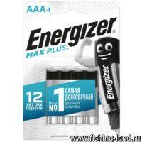 Батарейки Energizer ENR MAX Plus E92/AAА 4шт