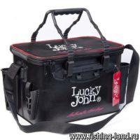 Сумка Lucky John с держателем для удилищ (360Х230Х250)