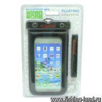 """Чехол для смартфона Kaida Waterproof Bag size 5""""-6"""" IPX8 20m Черный"""